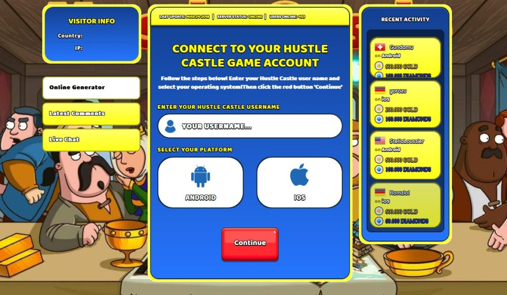 Hustle Castle Hack Screenshot